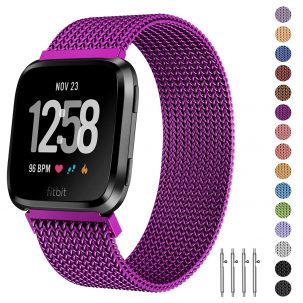 Fitlink Metal Bands Smart Watch for Women and Men