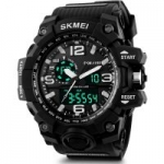 SKMEI Analog-Digital Black Dial Men's Watch